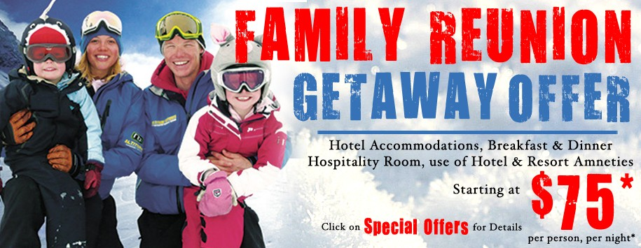 Family Reunions Specail offer Banners